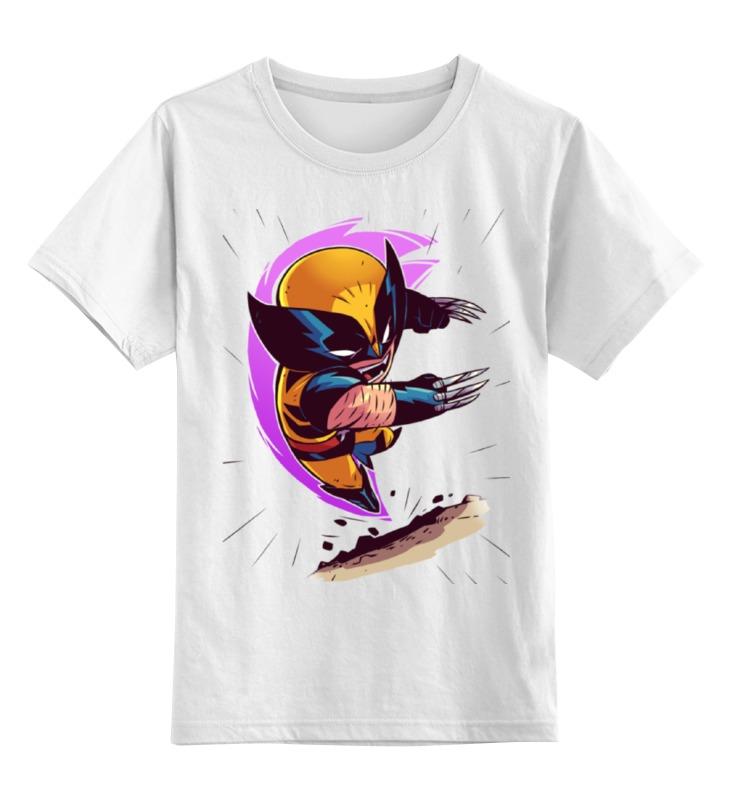 Детская футболка классическая унисекс Printio Росомаха / wolverine детская футболка классическая унисекс printio the wolverine росомаха