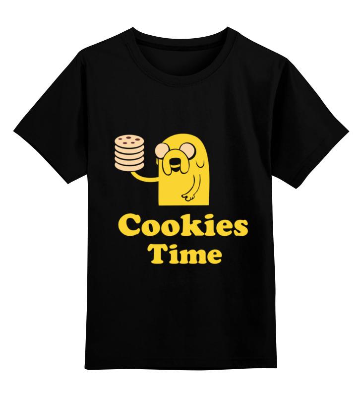 Детская футболка классическая унисекс Printio Jake cookies raw cookies