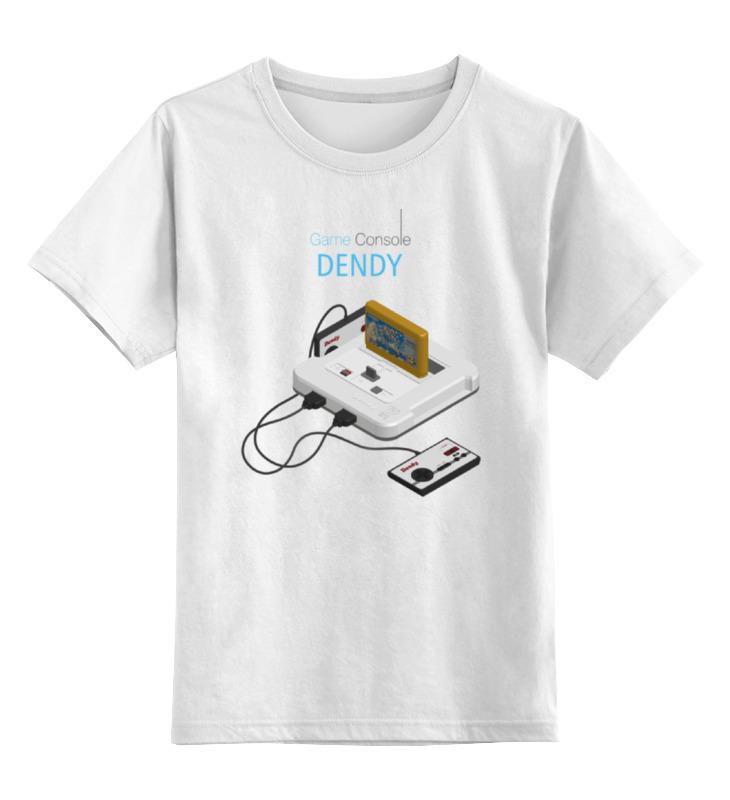 Детская футболка классическая унисекс Printio Игровая приставка денди майка классическая printio игровая приставка денди