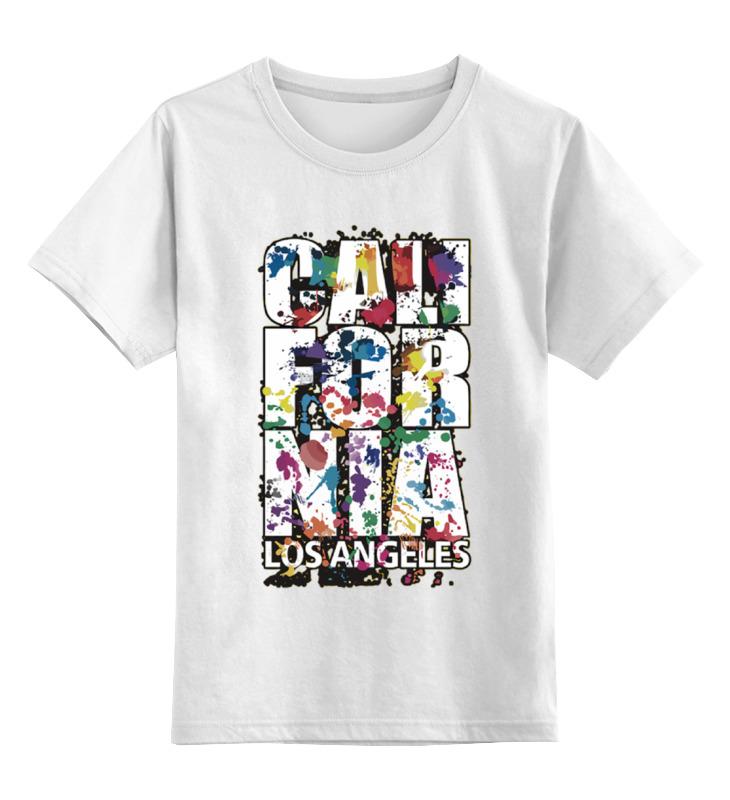 Детская футболка классическая унисекс Printio California детская футболка классическая унисекс printio оранжевое солнце