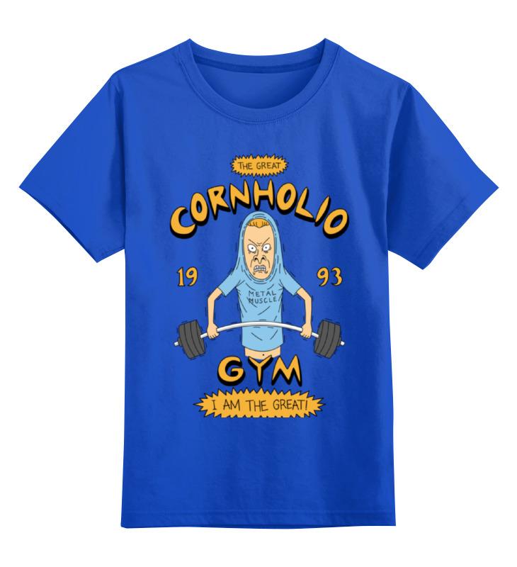 Детская футболка классическая унисекс Printio Спортзал кукурузо футболка стрэйч printio спортзал попайя