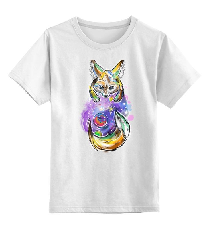 Детская футболка классическая унисекс Printio Лиса космос детская футболка классическая унисекс printio fox лиса