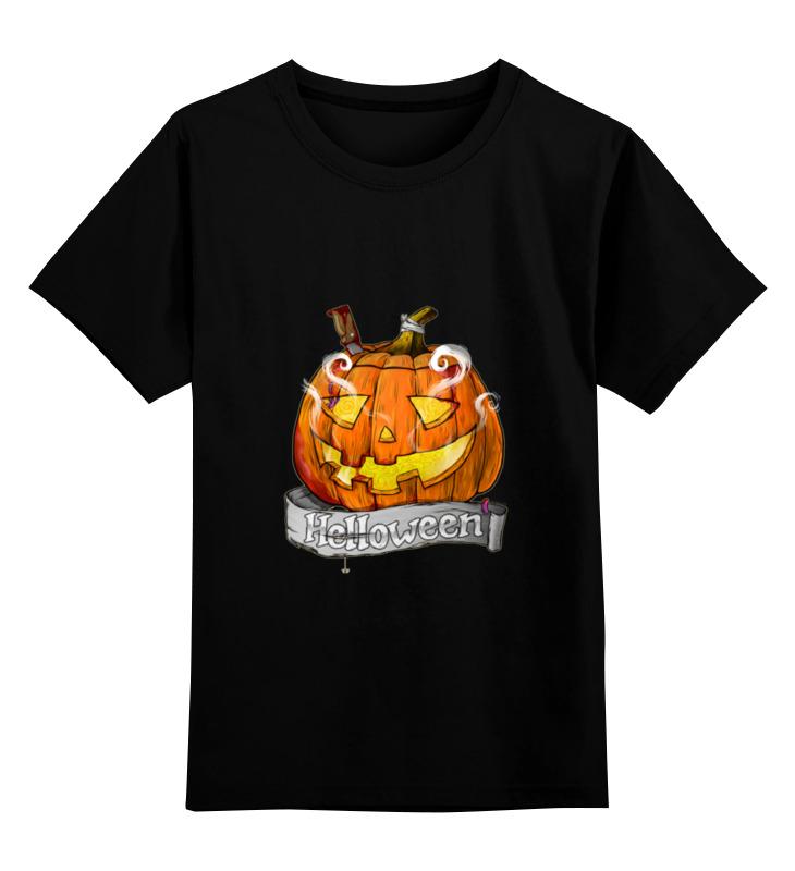 Детская футболка классическая унисекс Printio Helloween футболка классическая printio helloween