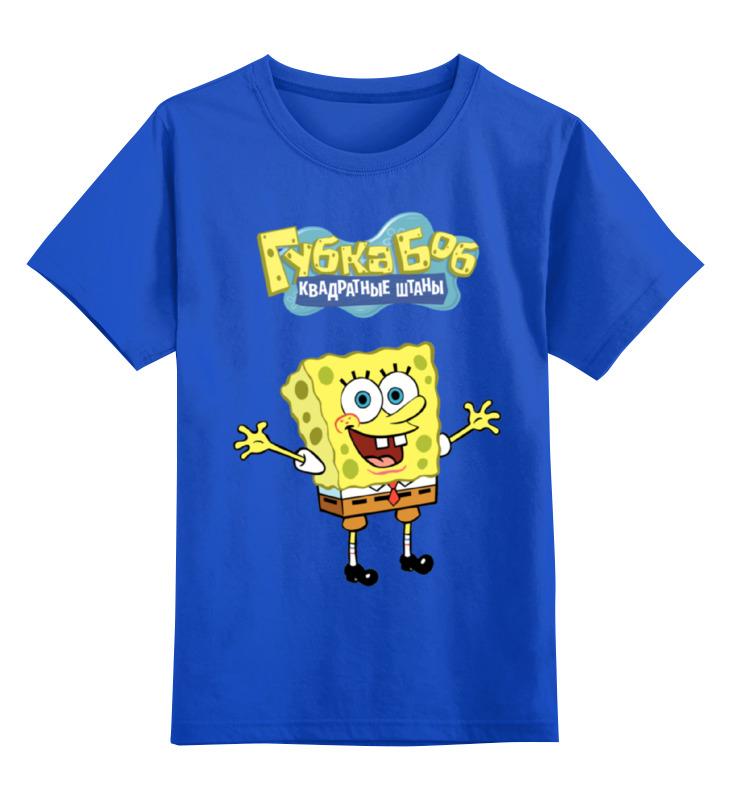 Детская футболка классическая унисекс Printio Спанч боб детская футболка классическая унисекс printio спанч боб
