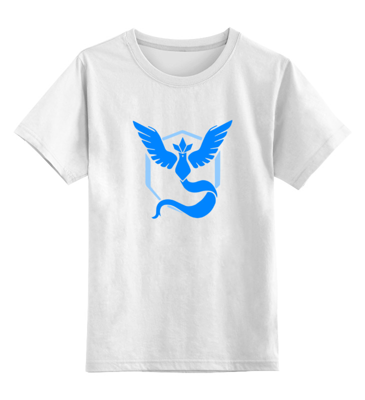 Детская футболка классическая унисекс Printio Покемон гоу (pokemon go) lno 132pcs lapras pokemon building block