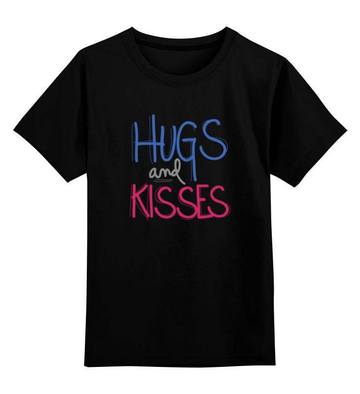 Детская футболка классическая унисекс Printio Обнимашки и поцелуи детская футболка классическая унисекс printio обнимашки для котов