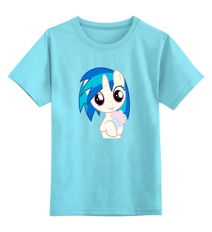 Детская футболка классическая унисекс Printio Мой маленький пони