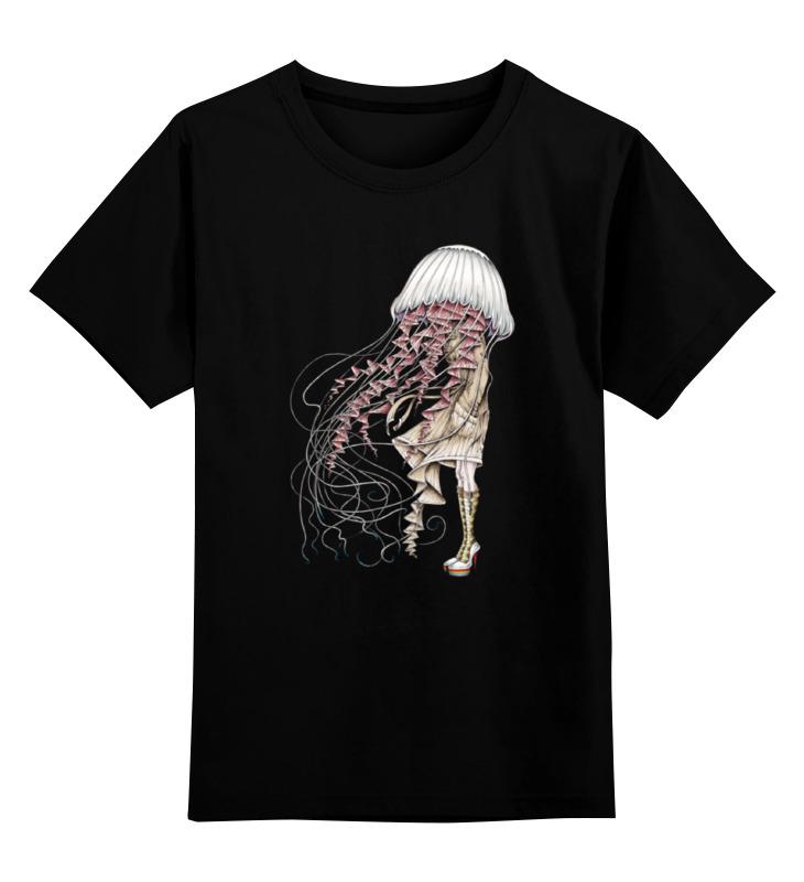 Детская футболка классическая унисекс Printio Медуза цена и фото