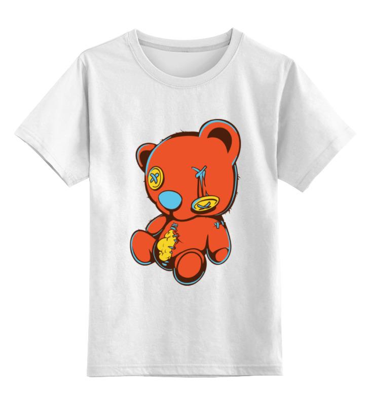 Детская футболка классическая унисекс Printio Dead teddy bear korea teddy bear cushion