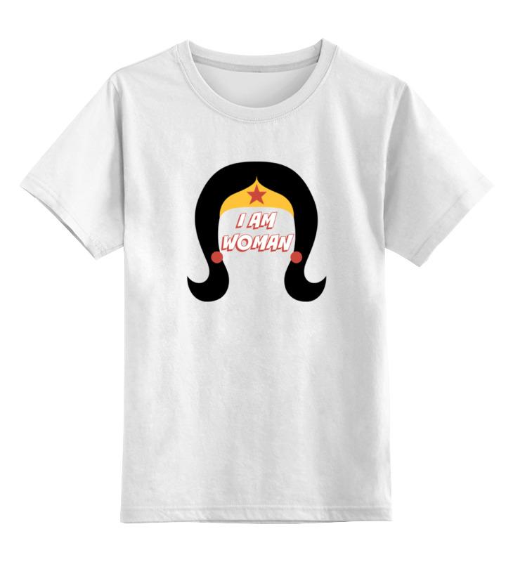 Детская футболка классическая унисекс Printio Чудо-женщина (wonder woman)