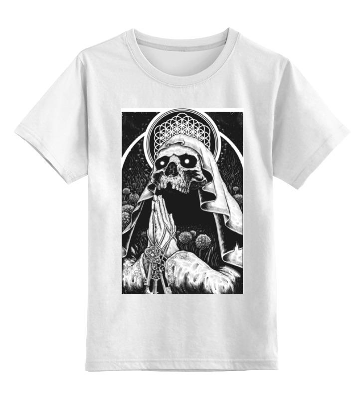 Детская футболка классическая унисекс Printio Bring me the horizon молитва