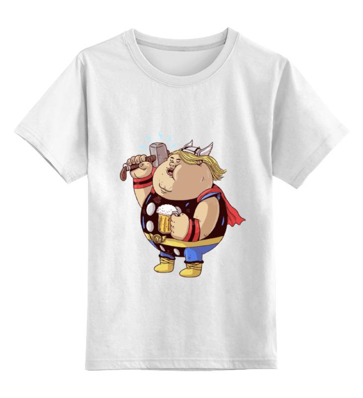 Детская футболка классическая унисекс Printio Fat thor vernee thor 4g smartphone