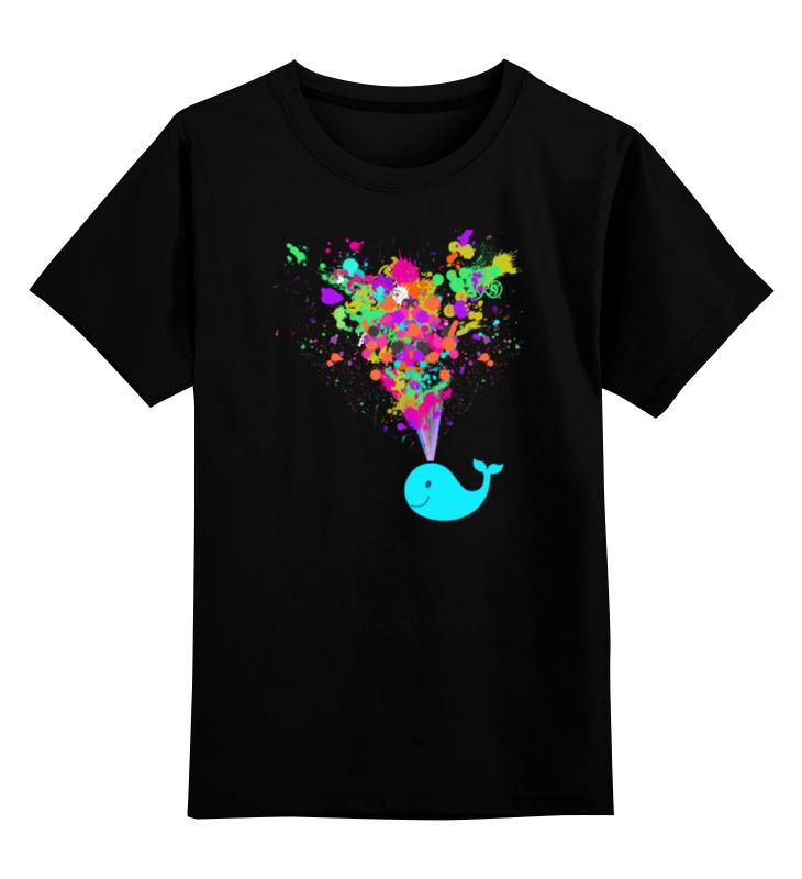 Детская футболка классическая унисекс Printio Радужный кит футболка классическая printio кит ричардс