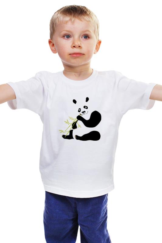 Детская футболка классическая унисекс Printio Панда детская футболка классическая унисекс printio мачете