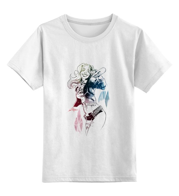 Детская футболка классическая унисекс Printio Harley quinn детская футболка классическая унисекс printio wat