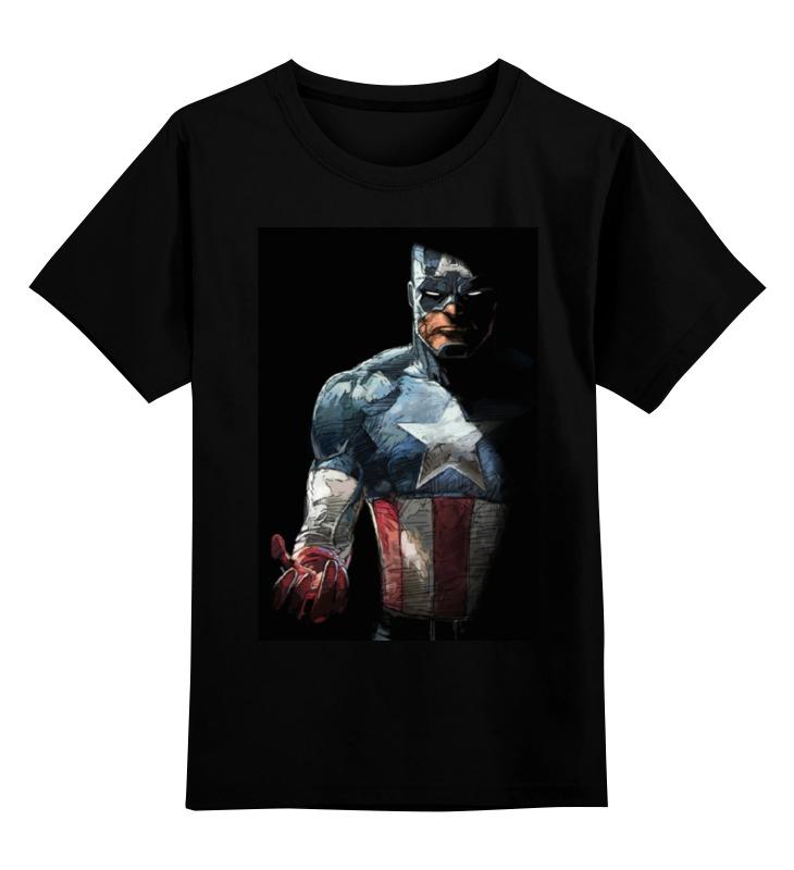 Детская футболка классическая унисекс Printio Капитан америка детская футболка классическая унисекс printio капитан броди