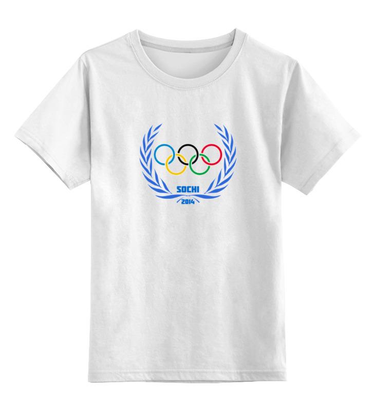 Детская футболка классическая унисекс Printio Sochi 2014 цена