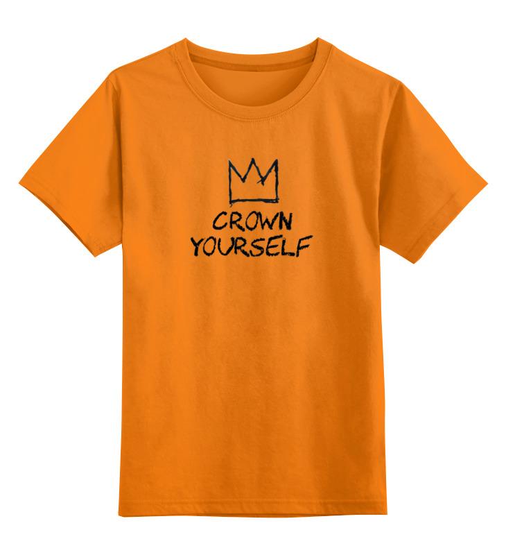 Детская футболка классическая унисекс Printio Корона / баския детская футболка классическая унисекс printio basquiat жан мишель баския