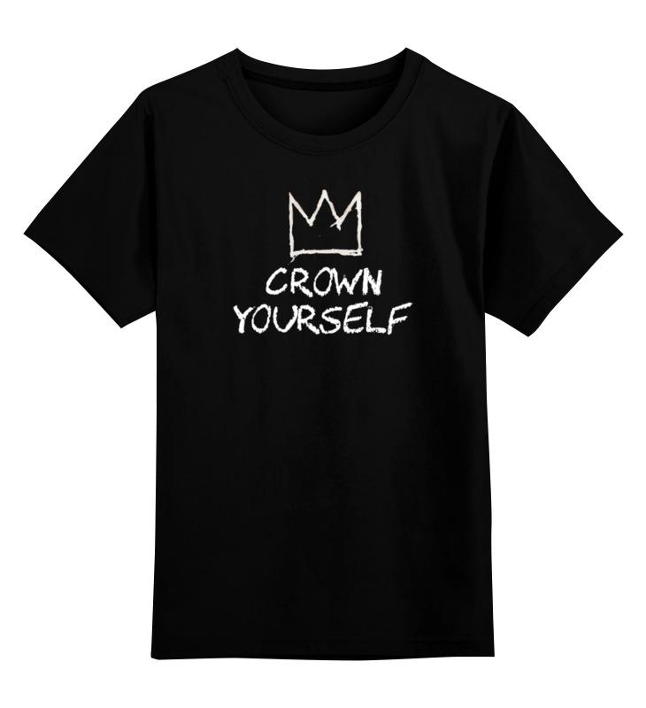 Детская футболка классическая унисекс Printio Корона / баския автомобильную тв антенну корона