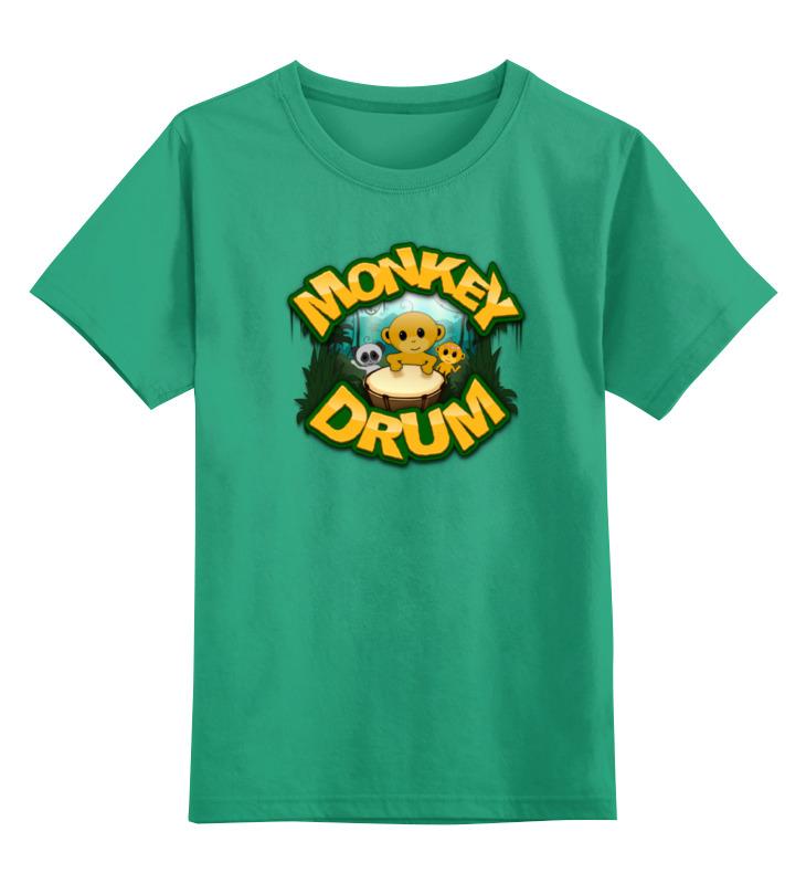 Детская футболка классическая унисекс Printio Год обезьяны футболка рингер printio обезьяны