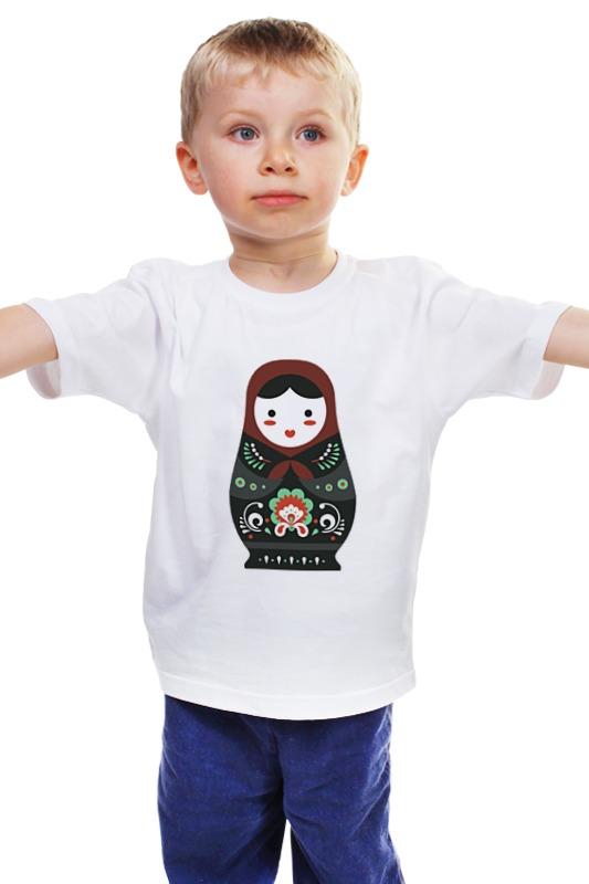Детская футболка классическая унисекс Printio Матрешка детская футболка классическая унисекс printio text