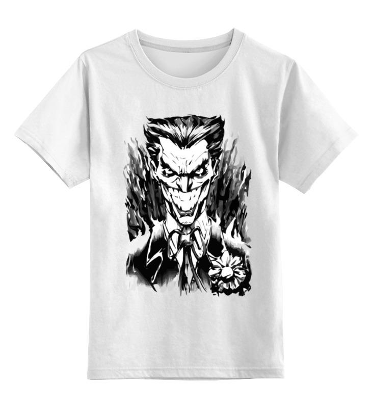 Детская футболка классическая унисекс Printio Джокер (joker) детская футболка классическая унисекс printio joker