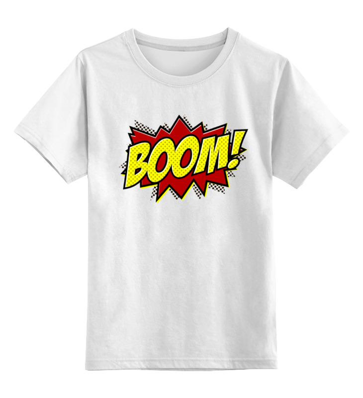 Детская футболка классическая унисекс Printio Boom! детская футболка классическая унисекс printio красота смертельна