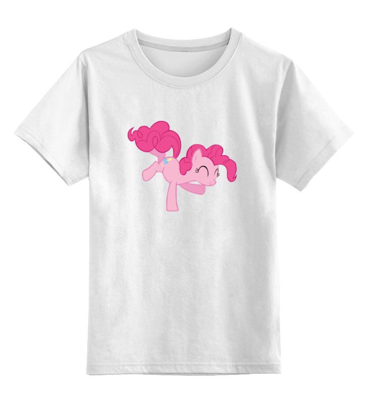 Детская футболка классическая унисекс Printio Pinky pay