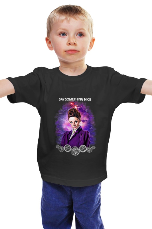 Детская футболка классическая унисекс Printio Missy. say something nice tisa missy р 27 30