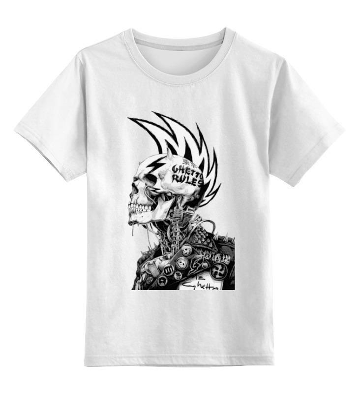 Детская футболка классическая унисекс Printio Punks not dead сумка printio панки живы punks not dead
