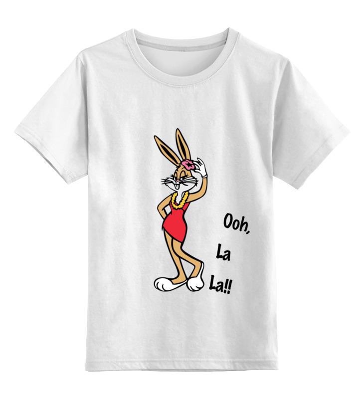 Детская футболка классическая унисекс Printio Bugs bunny_woman детская футболка классическая унисекс printio bugs bunny man