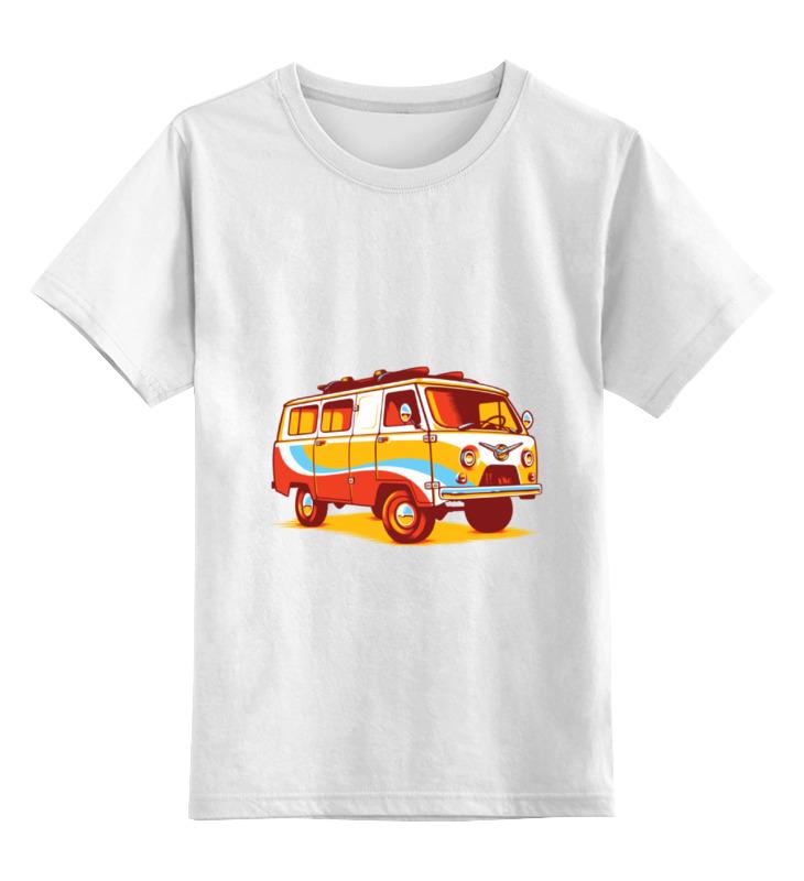 Детская футболка классическая унисекс Printio Хиппи