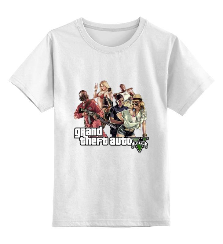 Детская футболка классическая унисекс Printio Гта. сумка printio gta 5 dog