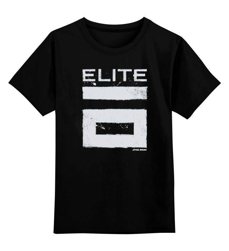 Детская футболка классическая унисекс Printio Элита