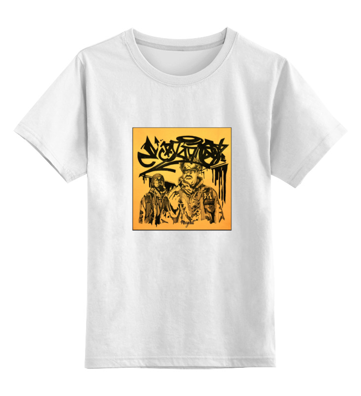 Детская футболка классическая унисекс Printio Underground2