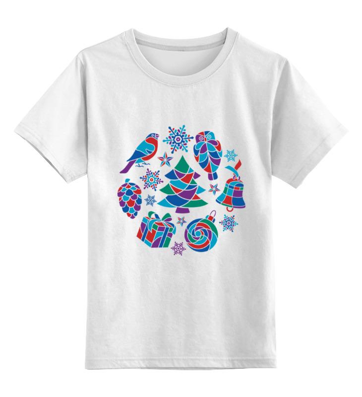 футболка классическая унисекс Printio Зимняя