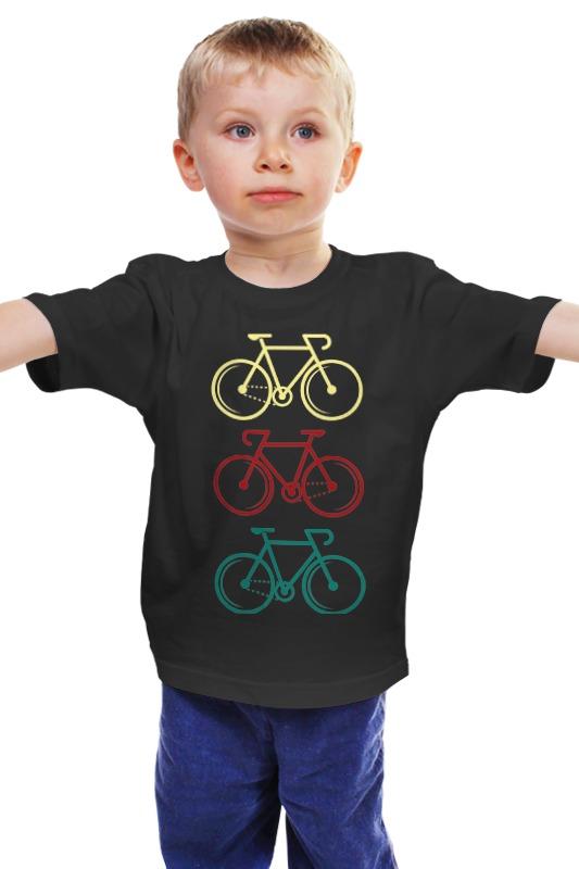 Детская футболка классическая унисекс Printio Велосипеды детская футболка классическая унисекс printio велосипеды