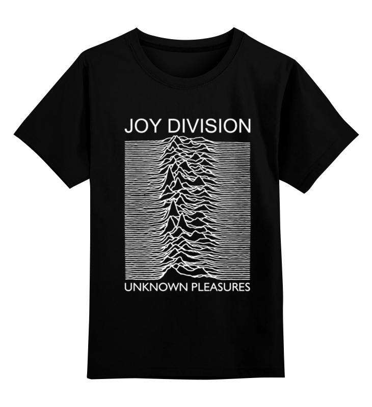 Детская футболка классическая унисекс Printio Joy division чехол для ноутбука 14 printio joy division