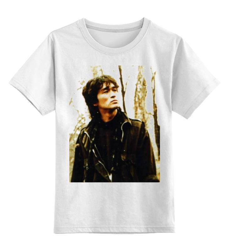 Детская футболка классическая унисекс Printio Виктор цой футболка цой