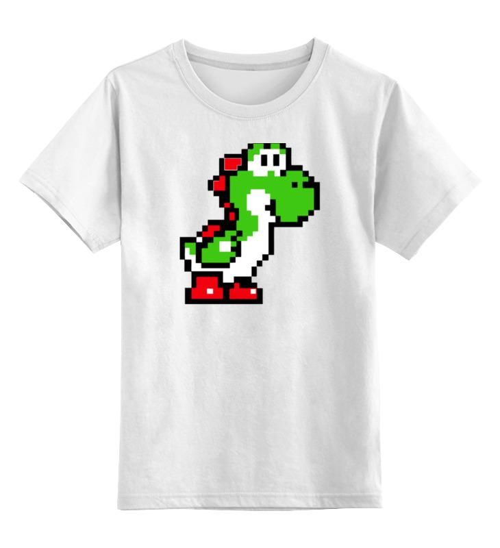 Детская футболка классическая унисекс Printio Йоши (марио)