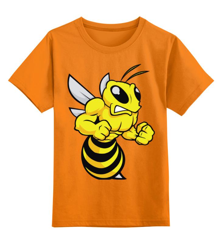 Детская футболка классическая унисекс Printio Злая оса
