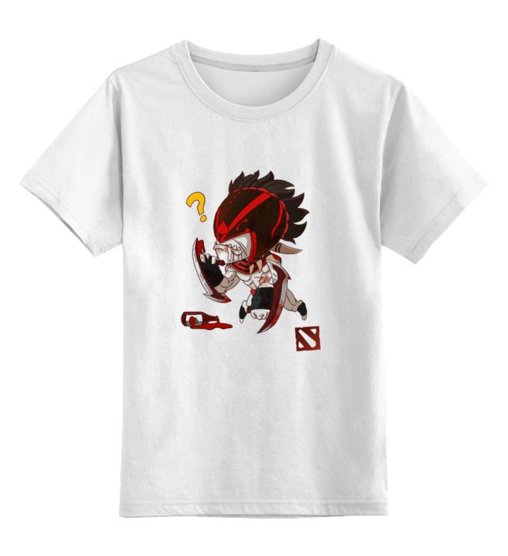 Детская футболка классическая унисекс Printio Dota 2 bloodseeker детская футболка классическая унисекс printio dota 2 logo