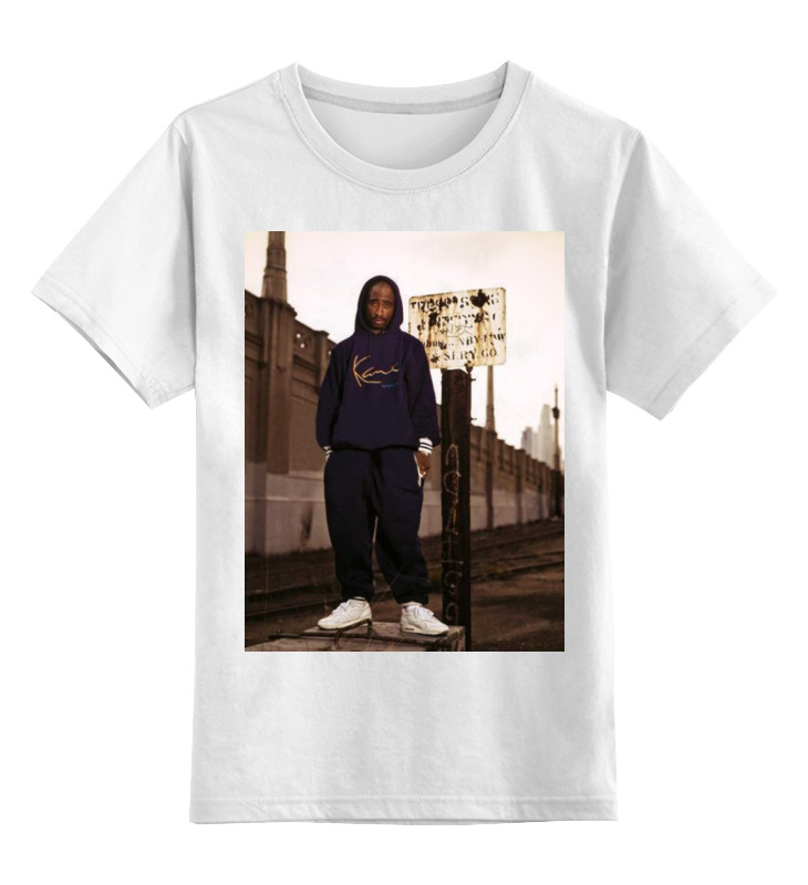 Детская футболка классическая унисекс Printio Tupac amaru shakur футболка с полной запечаткой женская printio тупак амару шакур tupac amaru shakur