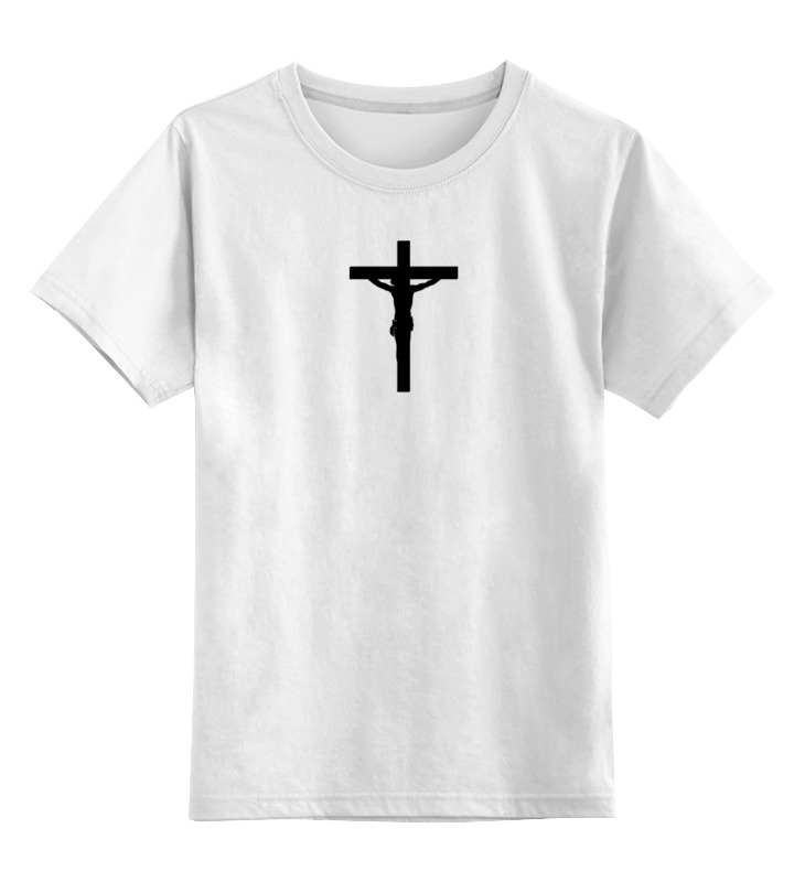 Детская футболка классическая унисекс Printio Не воскрес
