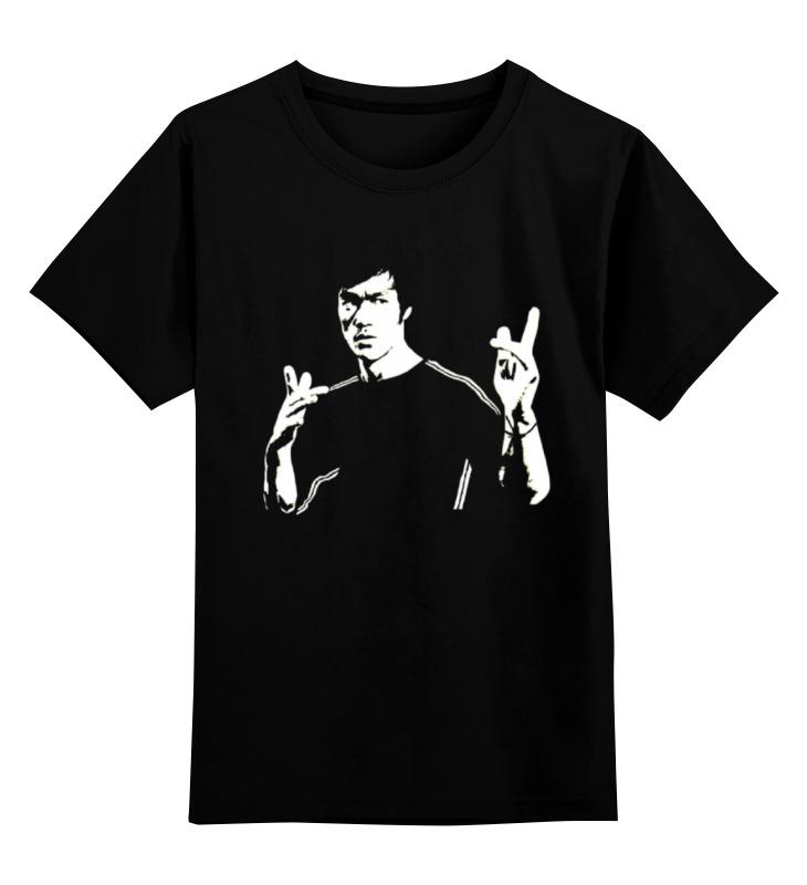 Детская футболка классическая унисекс Printio Bruce lee все цены