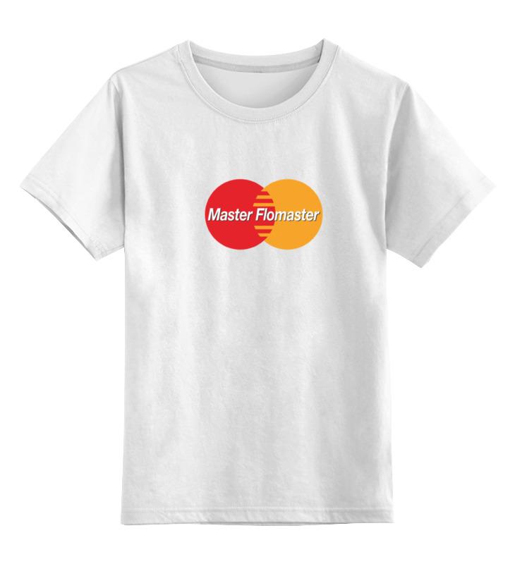 Детская футболка классическая унисекс Printio Master card прибор рн для определения в организме человека купить