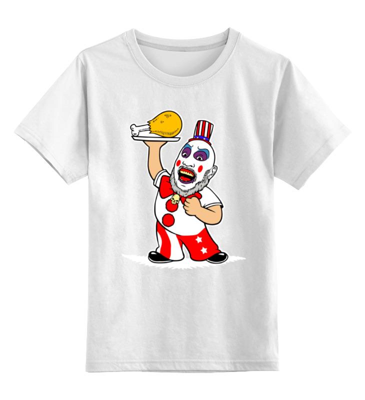 Детская футболка классическая унисекс Printio капитан сполдинг капитан детская и взрослая модульная мебель мдф