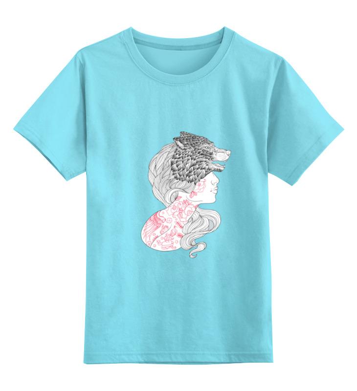 Детская футболка классическая унисекс Printio -wolf- детская футболка классическая унисекс printio lone wolf
