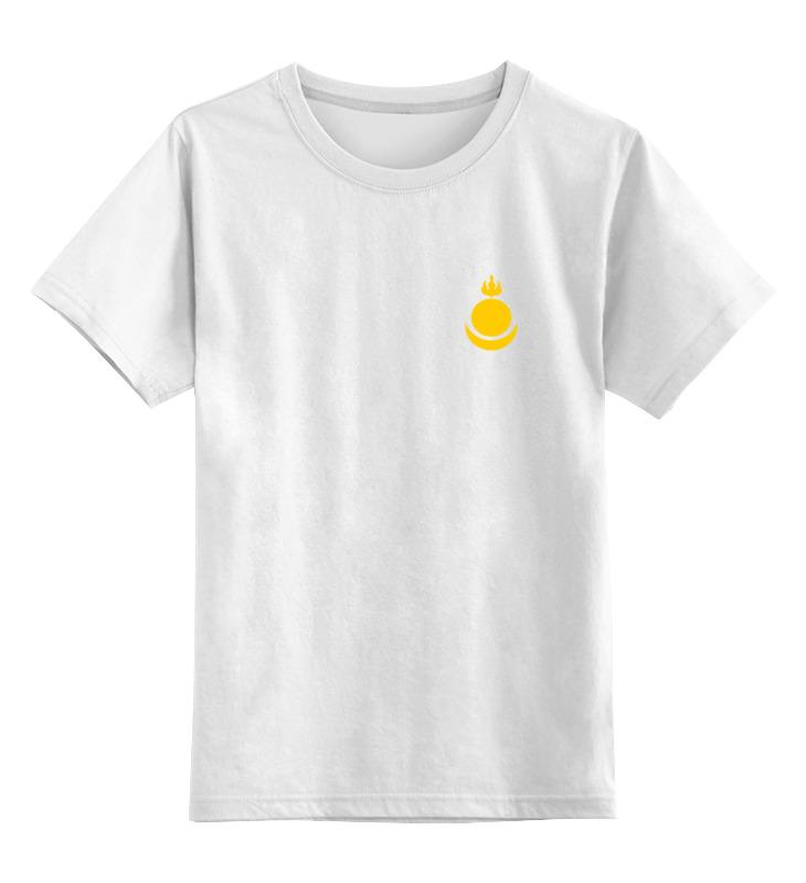 Детская футболка классическая унисекс Printio Соёмбо майка классическая printio соёмбо