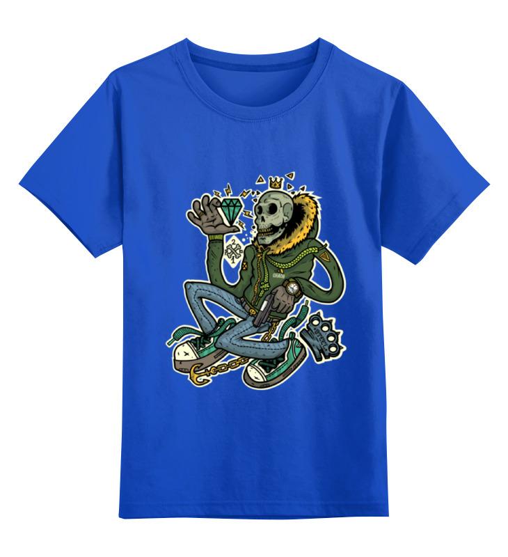 Детская футболка классическая унисекс Printio Ganksta mafia коктейли яркие моменты праздника